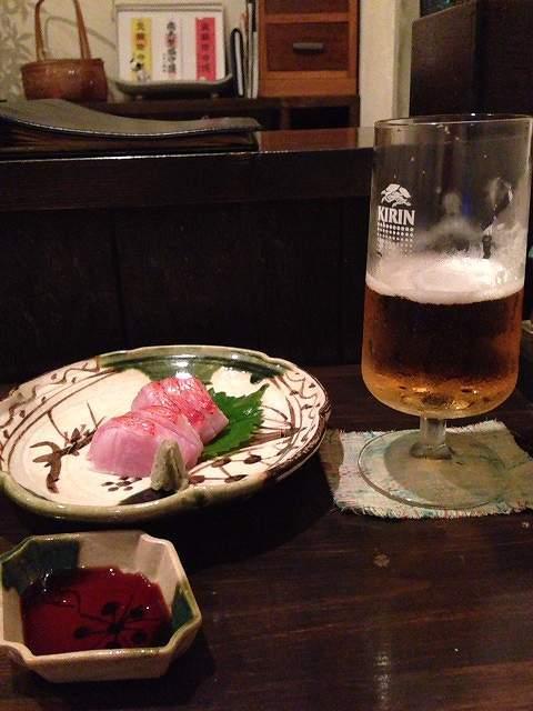 ビールとキンメ.jpg