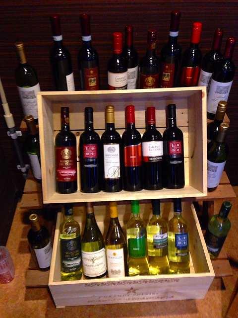 入口にあったワイン.jpg